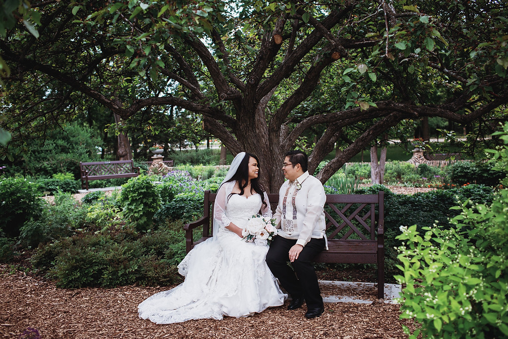 Filipino wedding in Winnipeg, Manitoba.