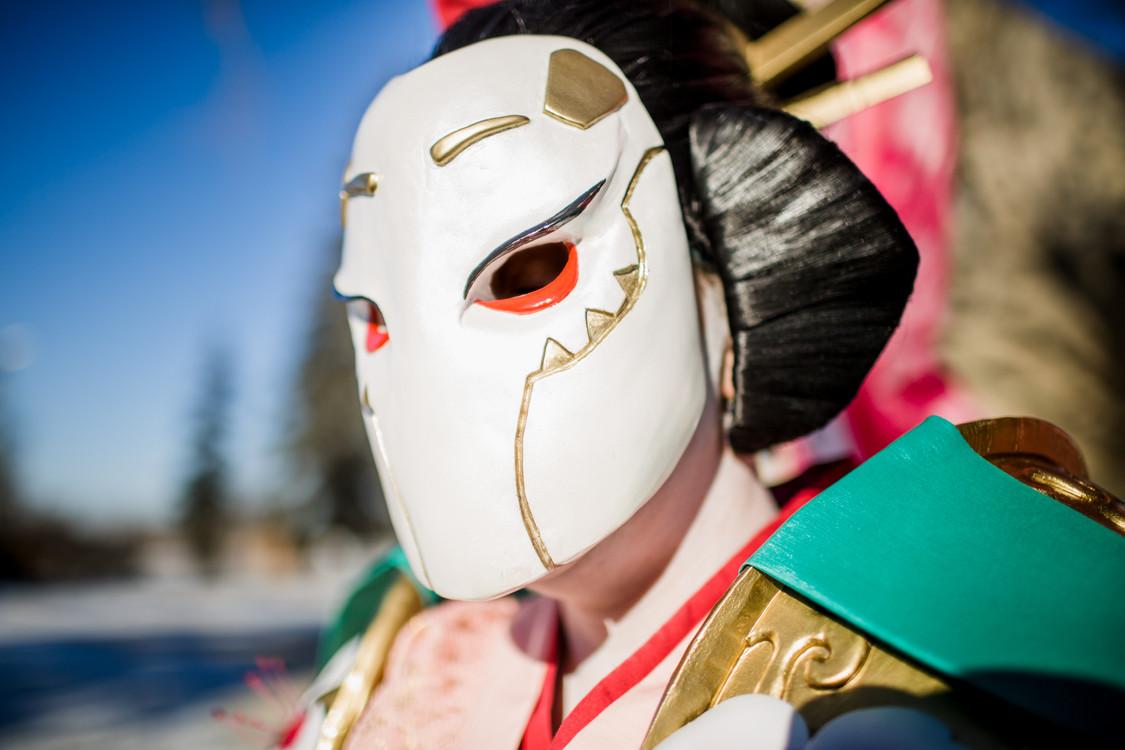 Auriel in Sakura Skin, Mask