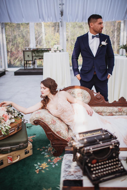 Secret garden themed wedding