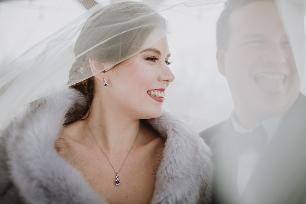 Bridal makeup inspiration by Nikki Markowski.