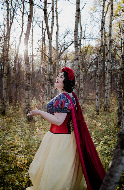 Snow White in the Forest