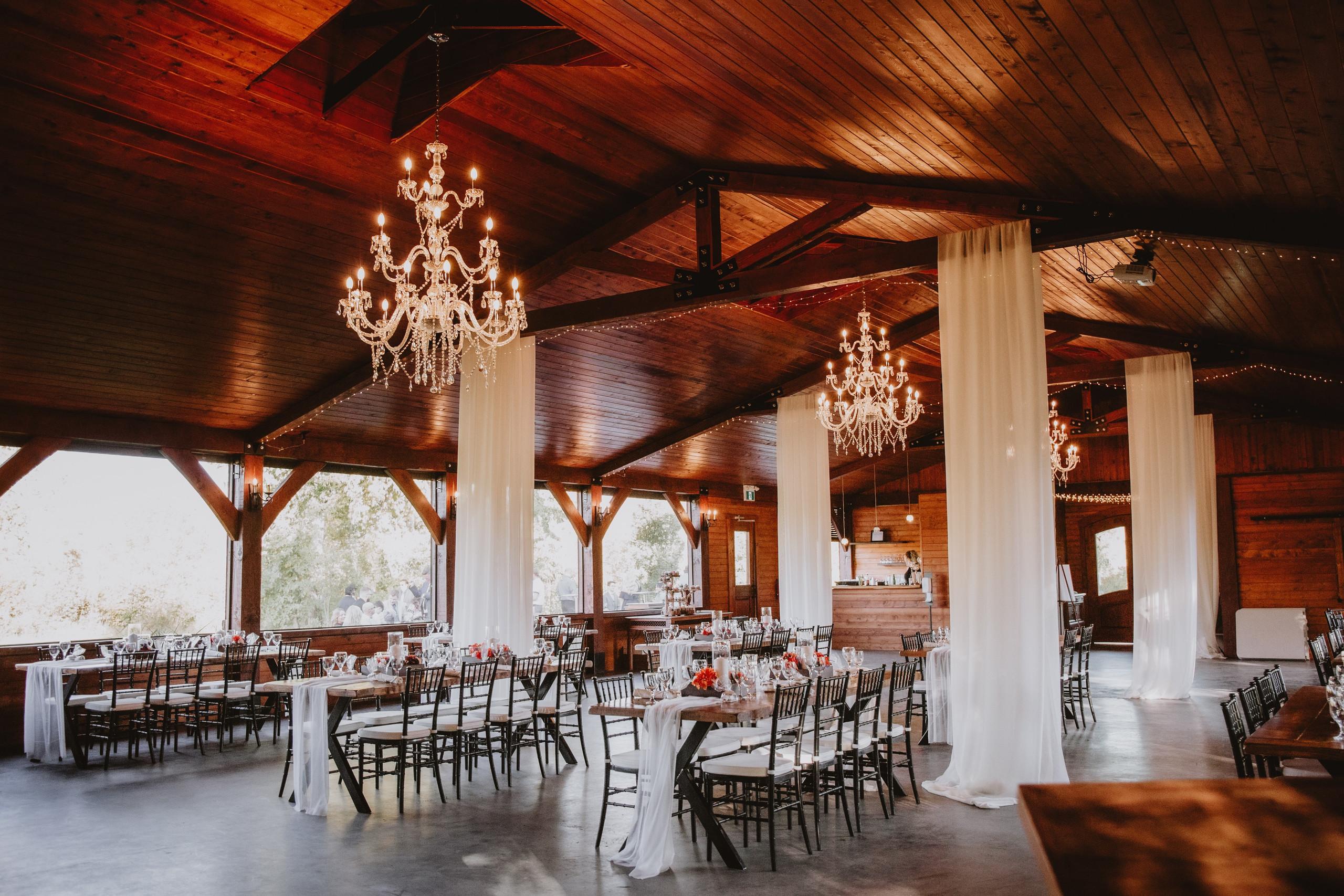 Stunning Fall Wedding Venue in Elma, Manitoba - Rivers Edge Resort.