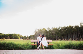 Summer Love Story Session in Assiniboine Forest