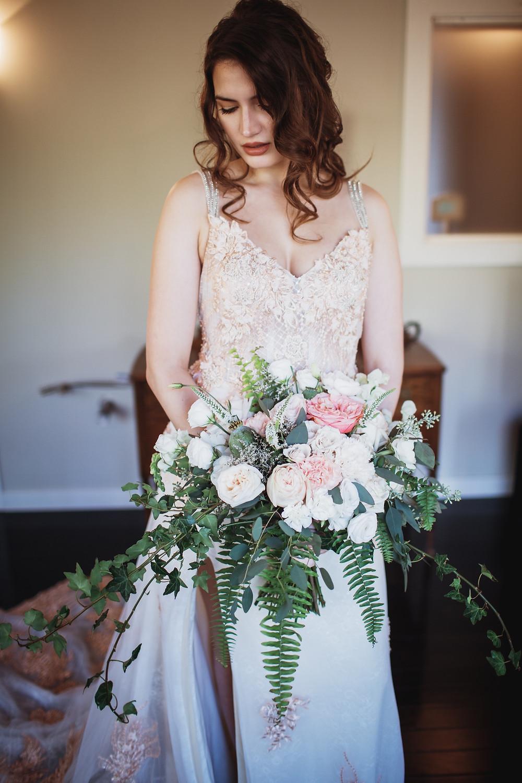 Stunning Anna Lang Bridal gown.