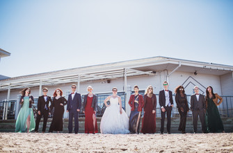 Marvel Themed Bridal Party Inspiration