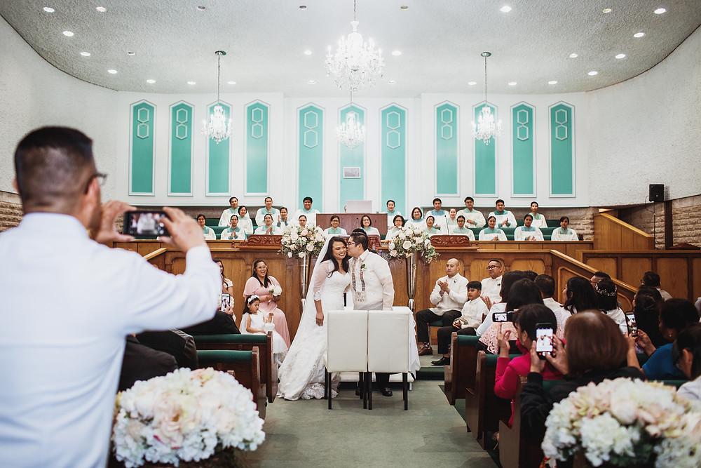 Winnipeg wedding ceremony.