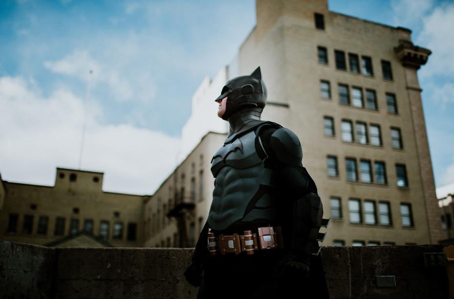 Batman visits Winnipeg, MB
