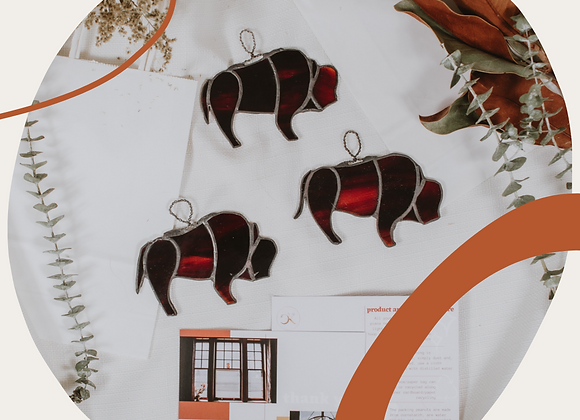 Bison Ornament