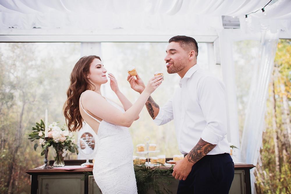 Wedding Cupcake smash.