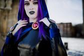 Raven cosplay in Downtown Winnipeg