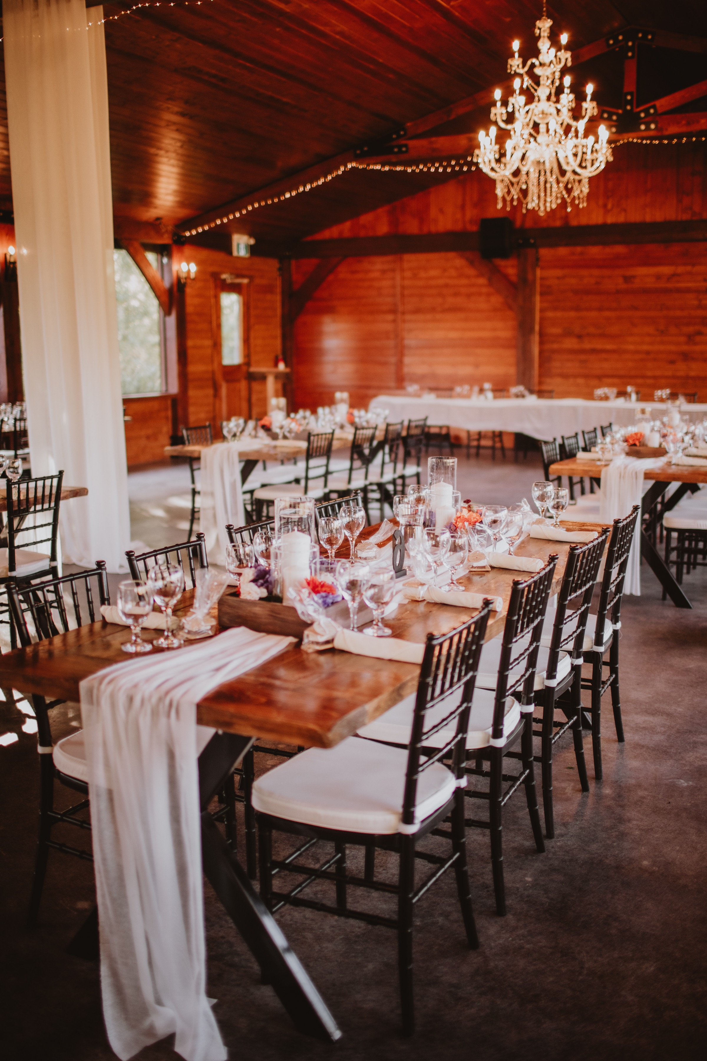 Fall Wedding Tablescape created by bride.