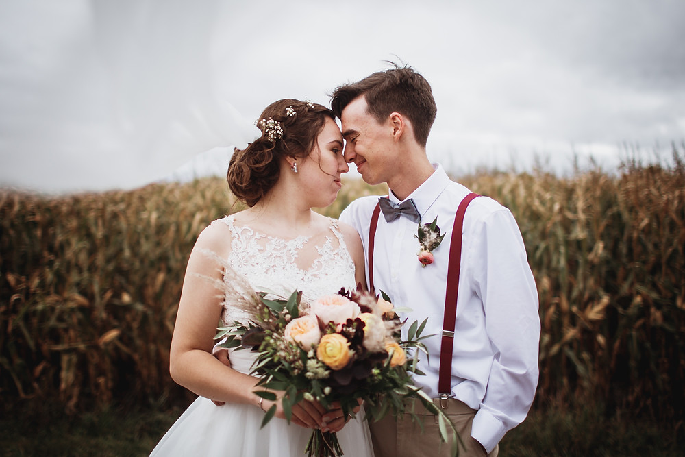 Fall bridal inspiration in Winkler, Manitoba