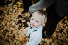 Portraits in Fall Leaves