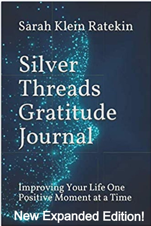 Signed Silver Threads Gratitude Journal