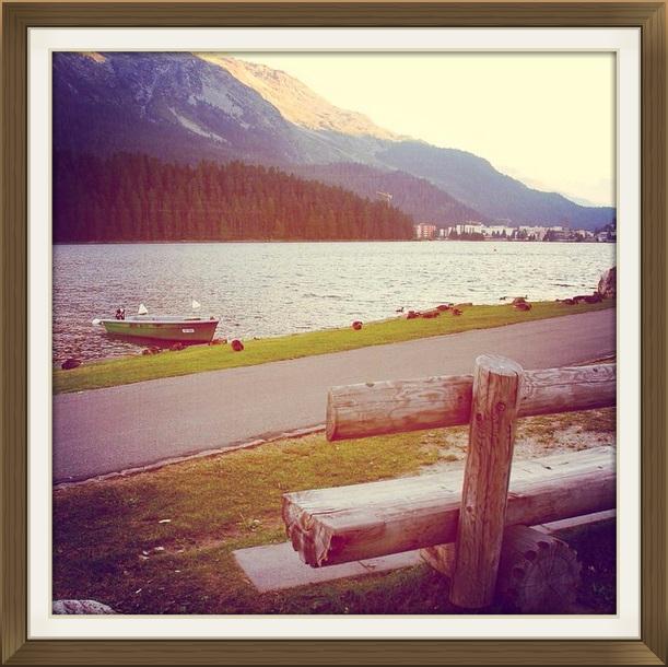 St. Moritz Gölü - İsviçre