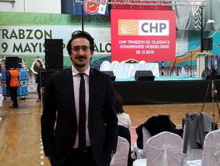 CHP Trabzon 35. Olağan İl Kongresi Gerçekleşti.