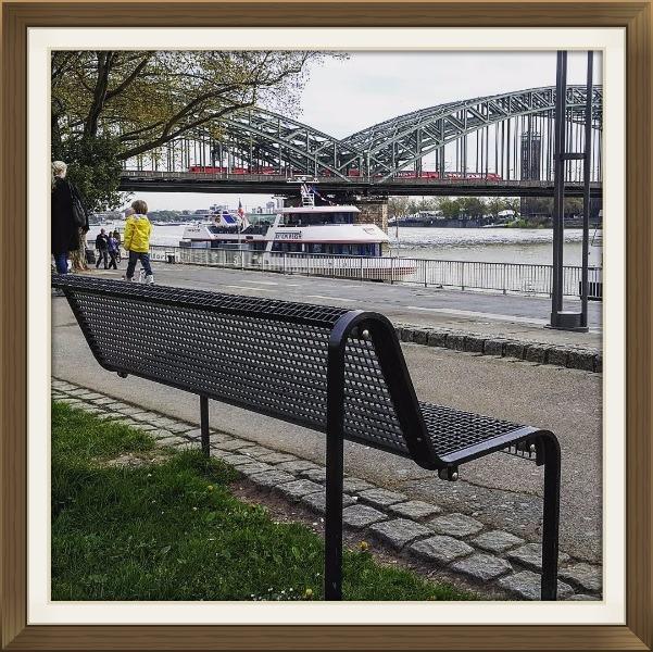 Ren Nehri Kenarı - Köln - Almanya