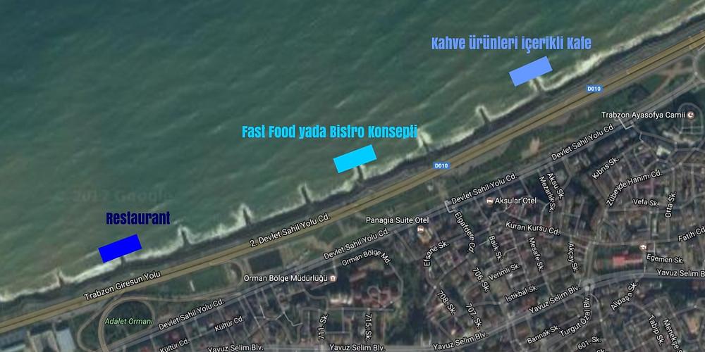 Trabzon Sahil Planı
