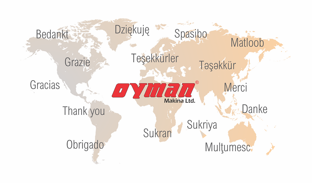 Trabzon'dan Dünya'ya Teşekkür