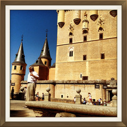 Alcazar Kalesi - Segovia - İspanya