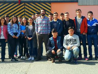Beşikdüzü Teknik ve Endüstri Meslek Lisesi Oyman Makina'yı ziyaret etti.