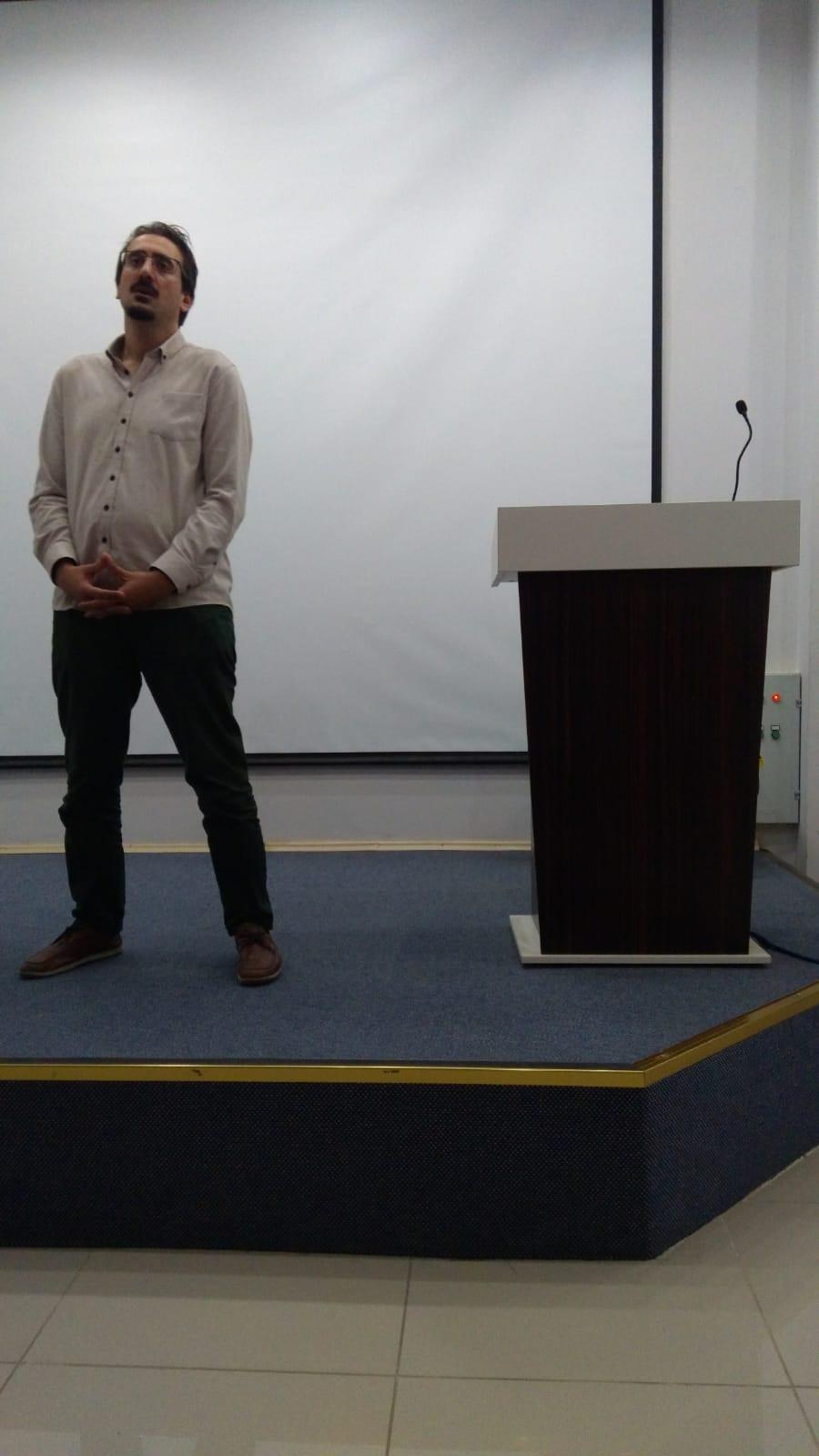Avrasya Üniversitesi - Fatih Suat Oyman (Girişimcilik Dersi)