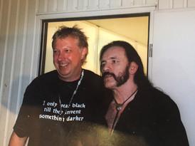 dj LDD en Lemmy (Motorhead)