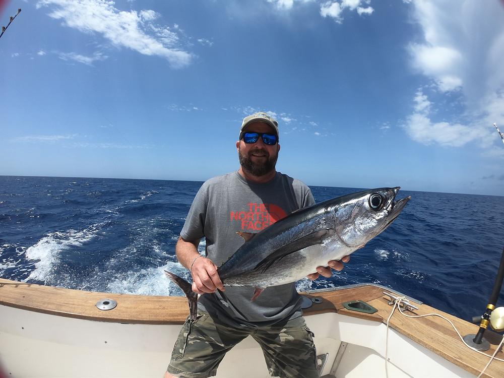 fishin in mallorca albacore