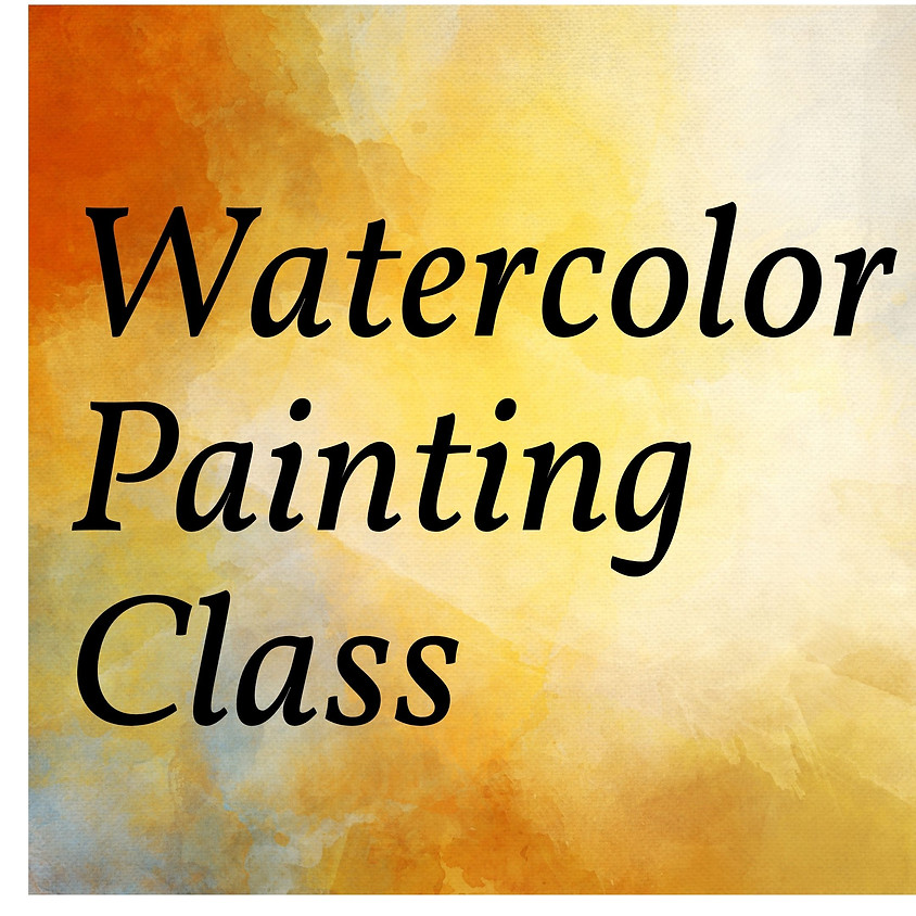Watercolor Painting Class (Adult)