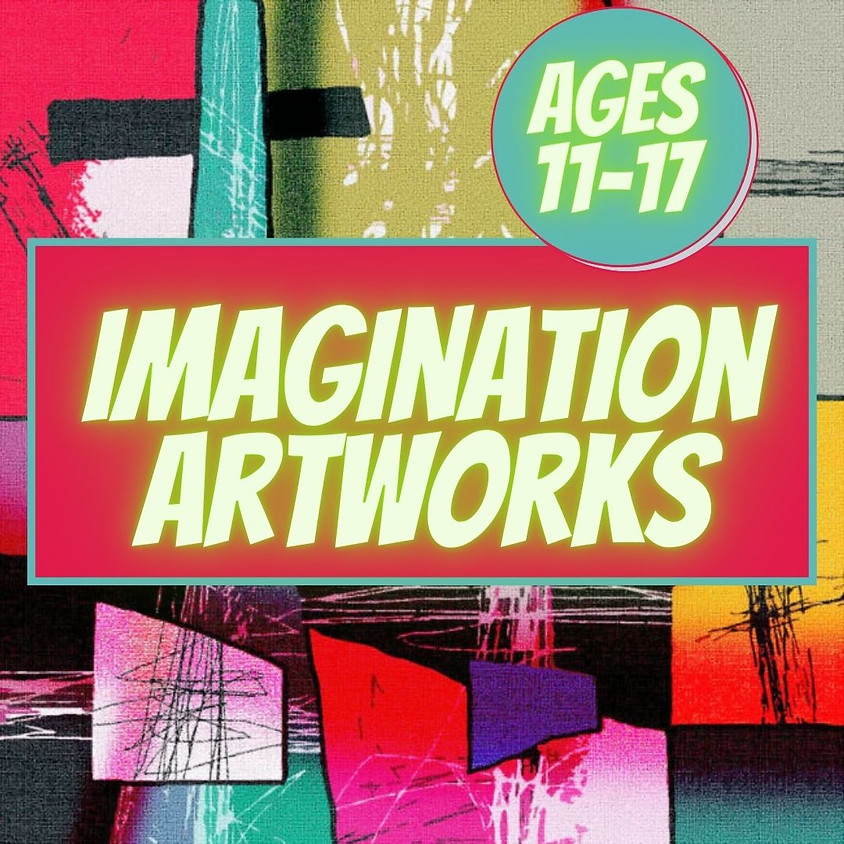 Imagination Artworks!-Visual Arts Class 11-17