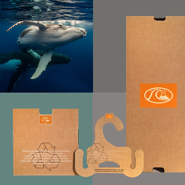 Sustainable, Ocean Friendly, Quick Silver, Packaging