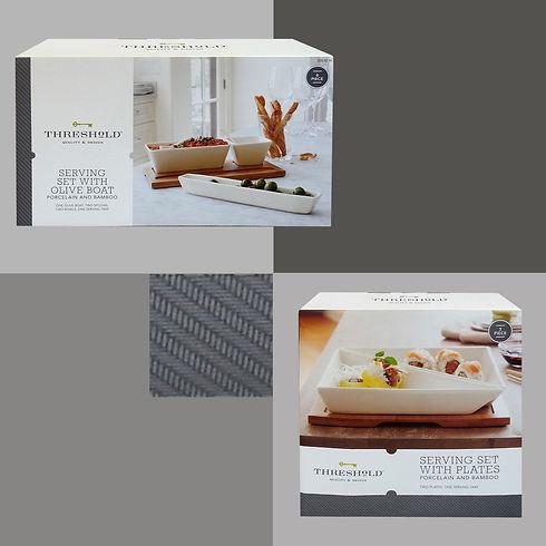 Threshold design, packaging