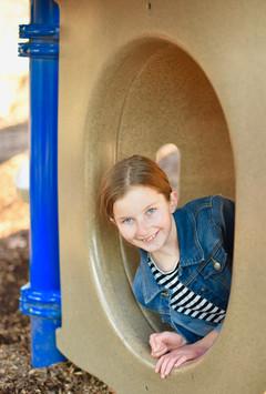 Playing at Dinosaur Park