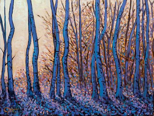 Art Print: 'Dusklight (The owl awakes)'