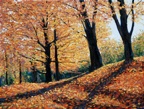 Tree Poem VII (Autumn Gold)