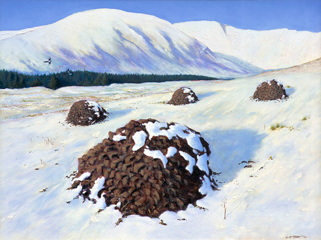 Winter fuel (Peat stacks in the Pocket)