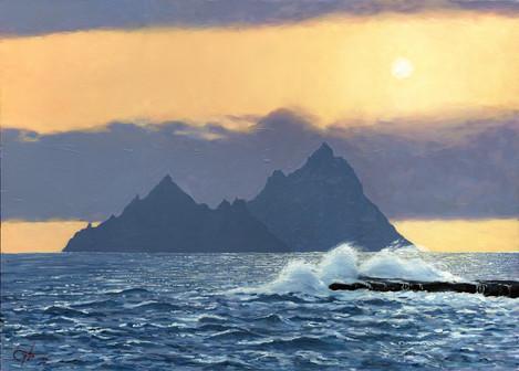 Enchanted evening (Skellig isles)