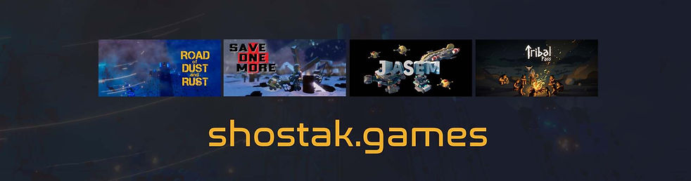All the games made by Stas Shostak shostak.games