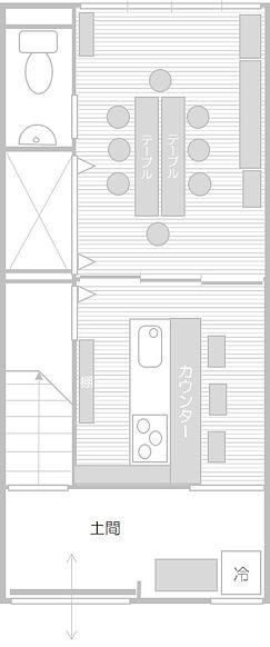 シロナガヤ レイアウト図