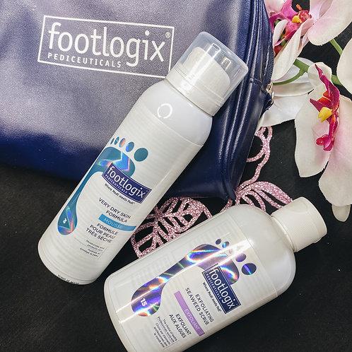 Footlogix Exfoliate & Hydrate Kit