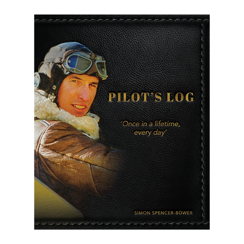 Pre-Order of Pilot's Log Hardcover