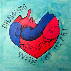 Drawing with the heart