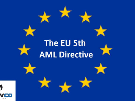 The 5th AML Directive - Expected changes to local legislation
