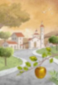 O Pomar das Maçãs Douradas-Ilustração2.j