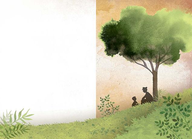 O Pomar das Maçãs Douradas-ilustração.jp