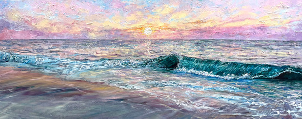 """""""Smith Point Beach Sunrise"""""""