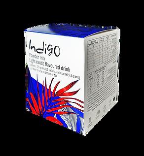 אינדיגו קופסה ברקע שקוף לכל השימושים בינ