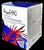 אינדיגו קופסה ברקע שקוף לכל השימושים קטן