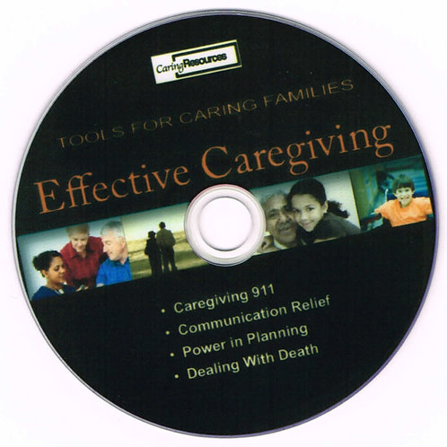 EFFECTIVE CAREGIVING VIDEOS (DVD)