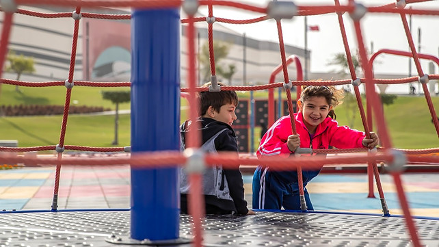 Playground design at Al Bayt Stadium